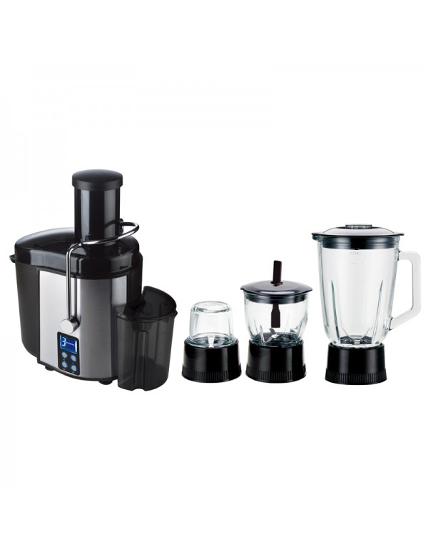 4 In 1 Home Use Electronic Stainless Steel Juicer Blender Kit/Set Various Colours RL-616